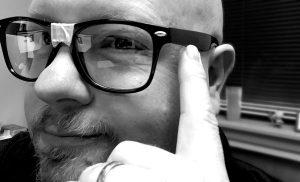 Robert L. Brown of Lennis Design Nerding out!