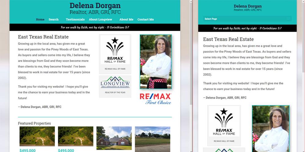 Delena Dorgan - RealtyEastTexas.com