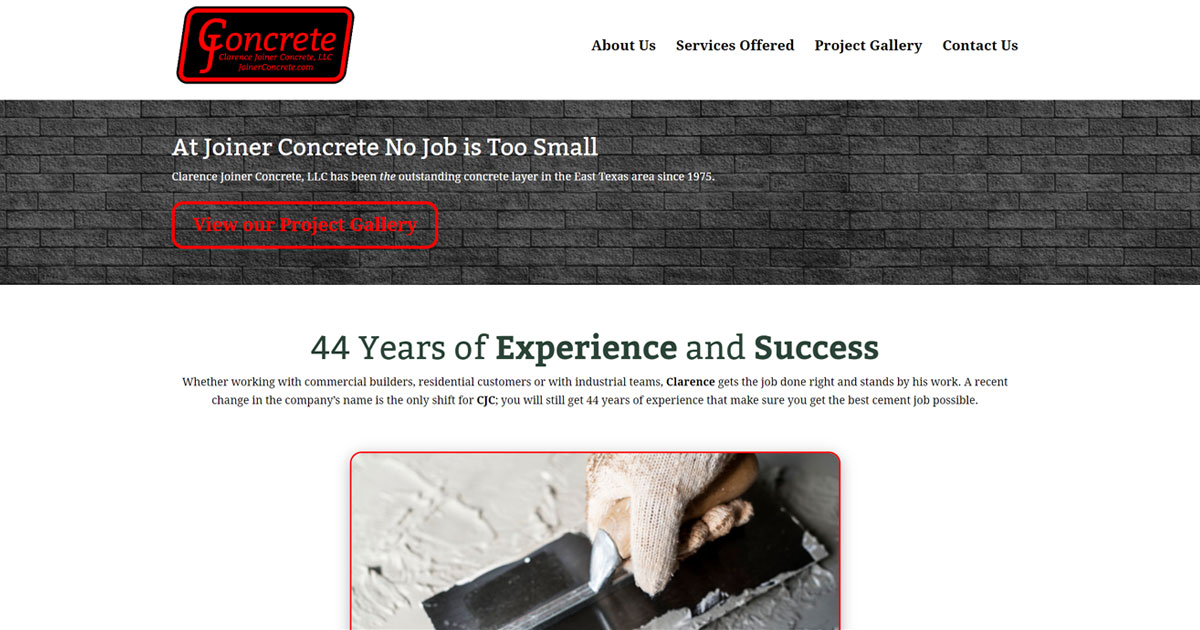 Clarence Joiner Concrete - Gladewater