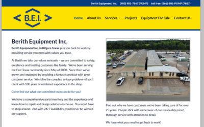 Berith Equipment Inc. – Kilgore, TX