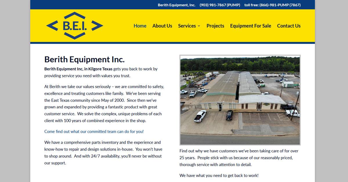Berith Equipment Inc. - Kilgore, TX