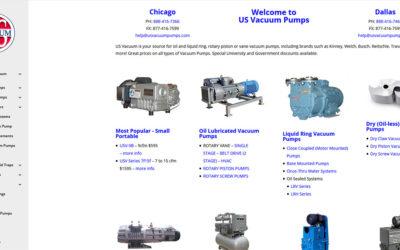 U.S. Vacuum Pumps – Chicago / Dallas