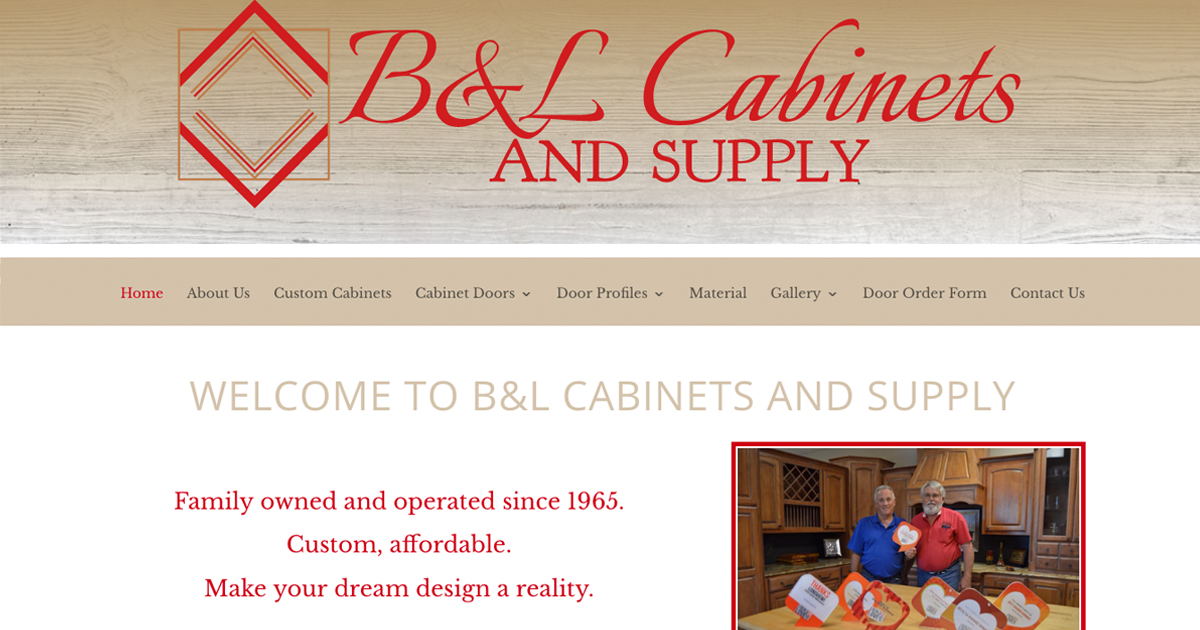 B&L Cabinets and Supply - Longview, TX