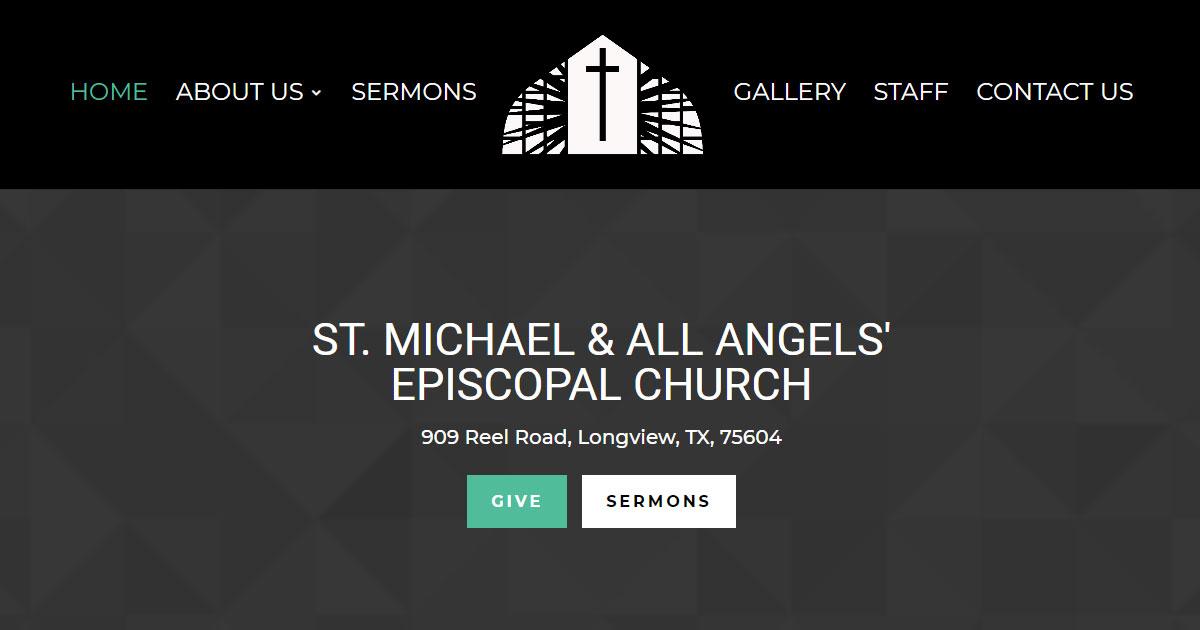 Saint Michael & All Angels' Episcopal Church - Longview, TX