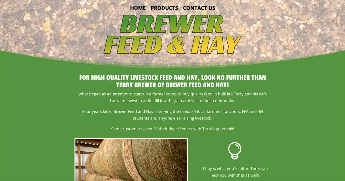 Brewer Feed & Hay - Gladewater, TX
