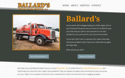 Ballard's Septic Tank Service, LLC – Longview, TX