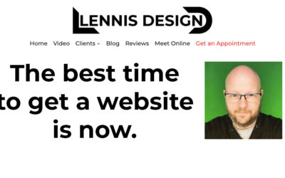 The best time to get a website is now.