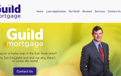 Tom Holyfield, Guild Mortgage – Longview and Tyler, TX
