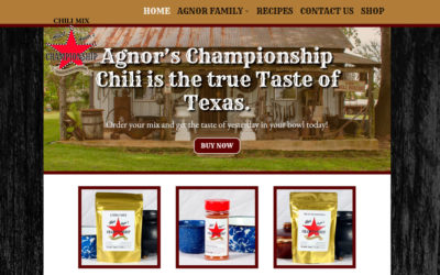 Albert Agnors Championship Chili Mix – Marshall, TX