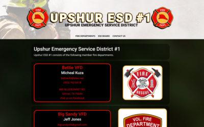 Upshur Emergency Service District #1 – Gilmer, TX